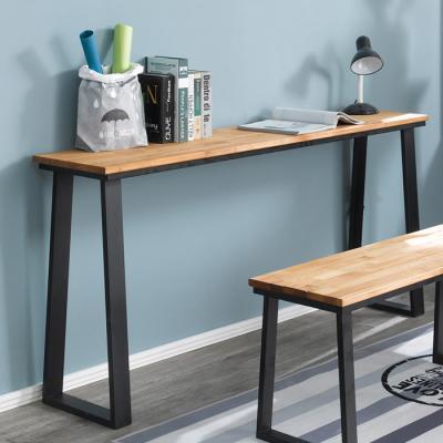 심플 라인 원목 테이블 900x760