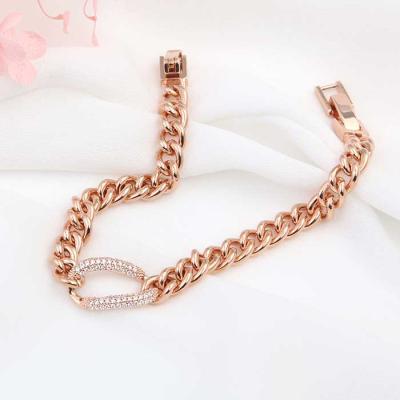 Mujer daily 니콜 bracelet 14KGP rose gold