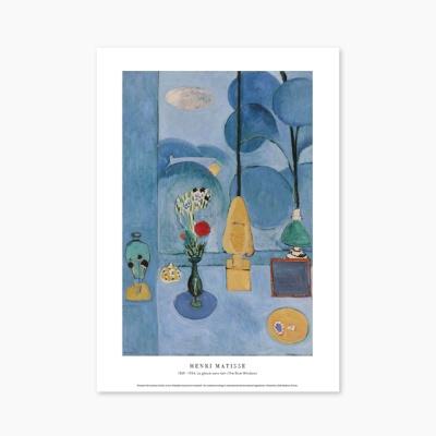 La glace sans tain (The Blue Window) - 앙리 마티스 011