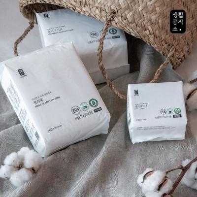 [생활공작소]유기농생리대 오버나이트 10P 4팩