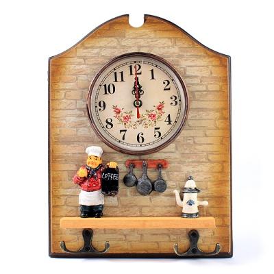 인테리어 벽시계(요리사)