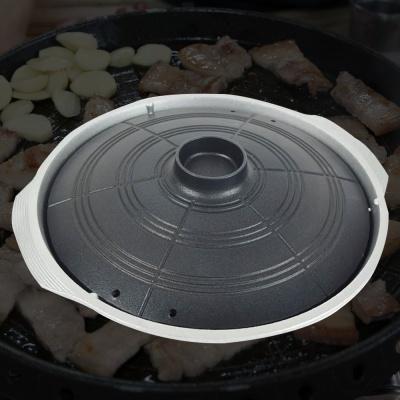 솥뚜껑불판 국산 마늘 가정용 솥뚜껑 구이판