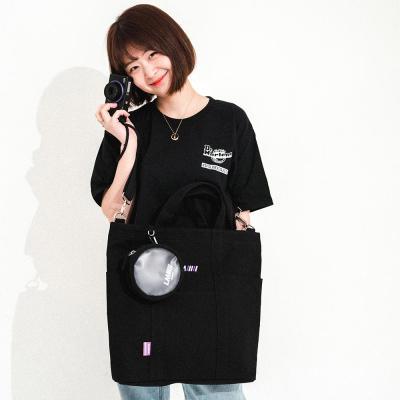 미니미니 에코백_블랙_LE46FBK