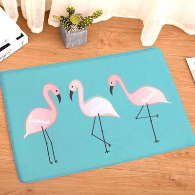 예쁜 Flamingo 세마리 발매트 사이즈50x80 CH1554066