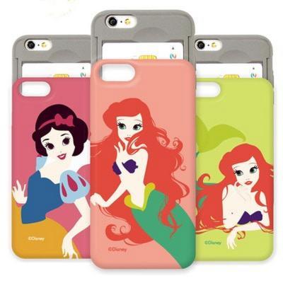 디즈니 프린세스 슬라이드 스마트폰 카드범퍼케이스