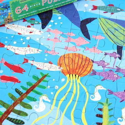 바다 보물 64피스 퍼즐 / 5세이상