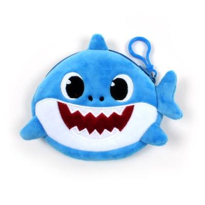 상어가족 동전지갑 블루