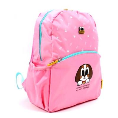 팬콧 비글 소풍가방 핑크 캐릭터 어린이 런치백 백팩