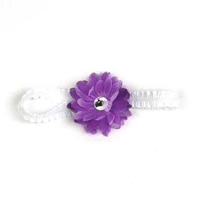 [헤어보우]Dahlia 베이비밴드-Purple