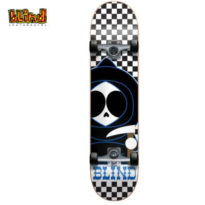 [Blind] CHECKERBOARD KENNY X BLACK/WHITE X COMPLETE MID 7.3 (미드사이즈)
