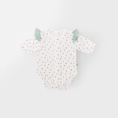 [메르베] 미니베리 신생아 아기 바디슈트_여름용(7부)