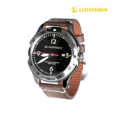 Leatherman 35주년 남자 시계(실버)