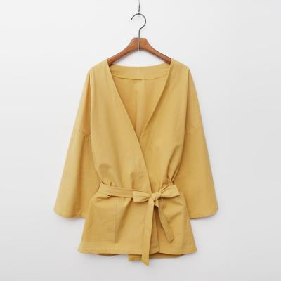 Linen Cotton Robe Jacket