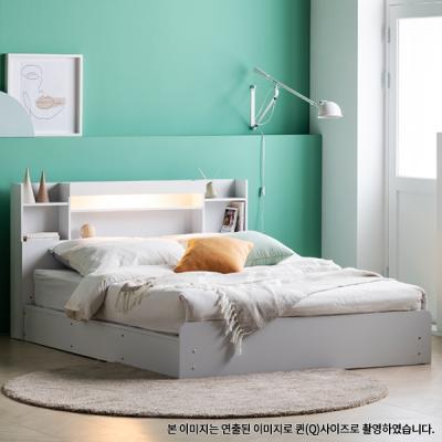 아르메 레이첼 LED 평상형 침대 SS_밸런스 투인스매트