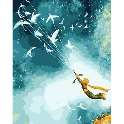 아이엠미니 DIY 별빛명화그리기 40x50_어린왕자의비행