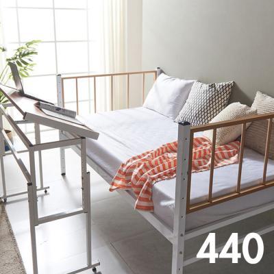 내방에 딱 철제 슈퍼싱글침대 +각도조절 테이블 440