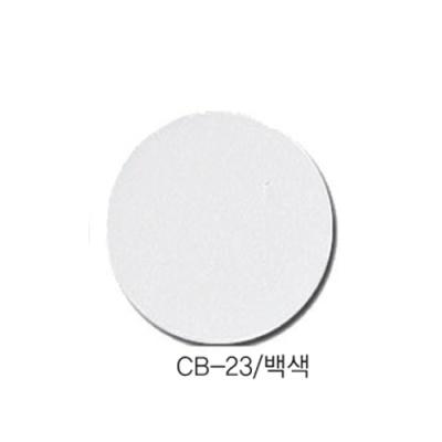 [현진아트] CB단면칼라우드락 5T 6X9 CB-23 백색 [장/1]  114452