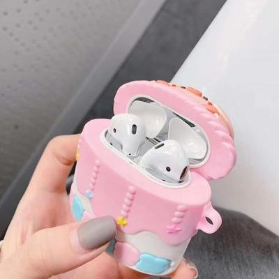 에어팟케이스 1 2세대 실리콘 피그 철가루방지스티커
