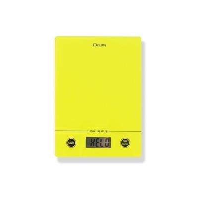 가정용 슬림 주방저울 1kg LCD원터치버튼 강화유리