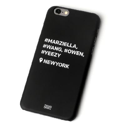 아이폰6 휴대폰케이스 - HASH TAG BLACK