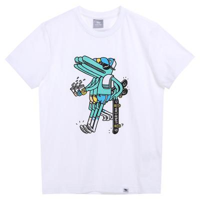 슈퍼크록 트리플렛 티셔츠 화이트