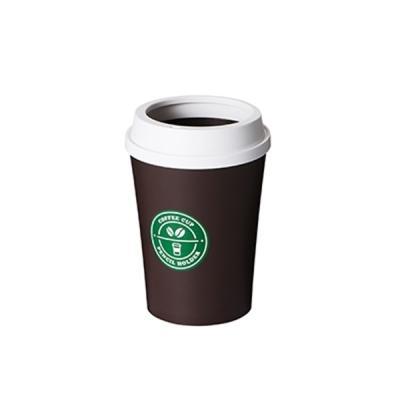 시스맥스 커피컵 펜슬 홀더 - 화이트&브라운