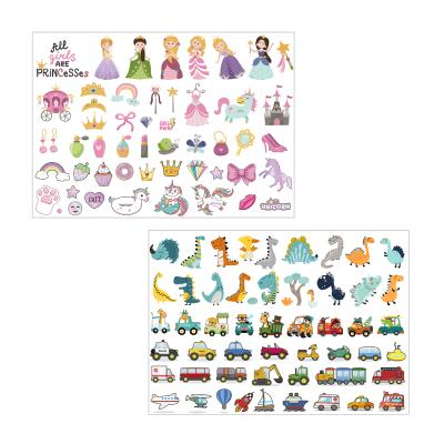 [아이다움] 마스크꾸미기 판박이 스티커 유아 어린이