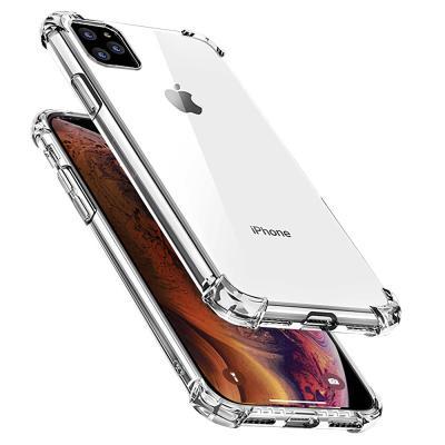 P073 아이폰11프로 에어범퍼 심플 클리어 젤리 케이스