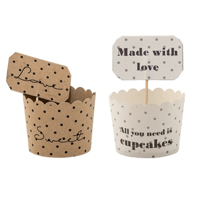 [Blooming]Paper Muffin Cup 2types머핀컵