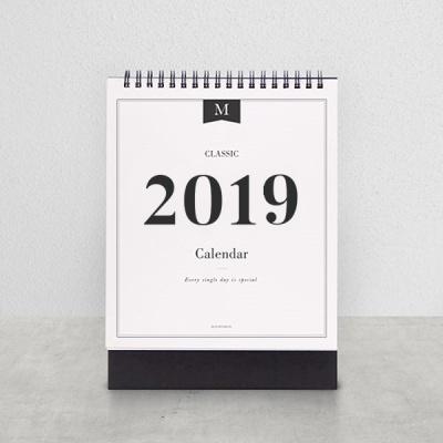 2019 CLASSIC DESK CALENDAR