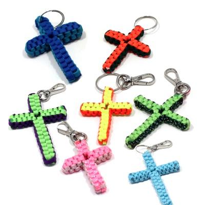 라온파라코드 십자(크로스)매듭 DIY