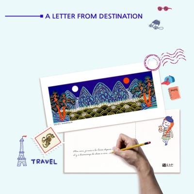 [디자인가안채] 민화포스트카드