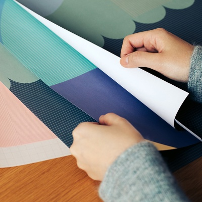 라이브워크 포장지 세트 - M (3 color)