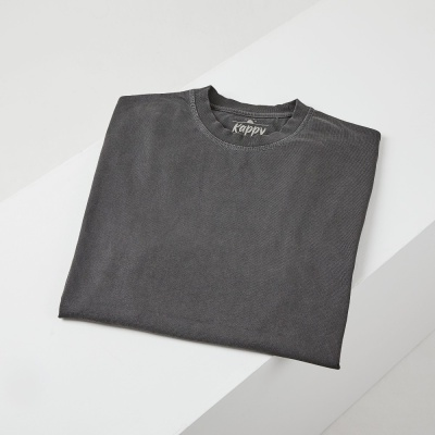 캐피디자인 피그먼트티셔츠 (다크그레이)
