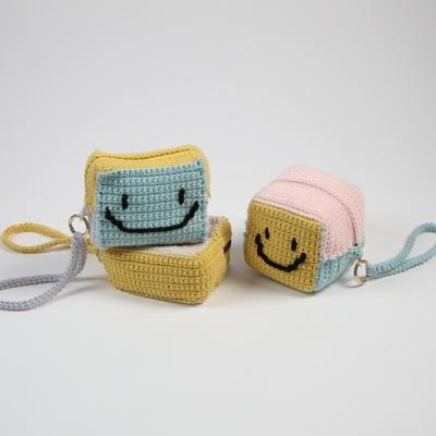 [앵콜스] [DIY키트] 스마일 큐브 파우치