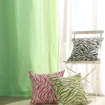 coloration metal ring curtain mint - M
