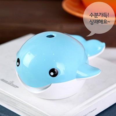 귀요미 돌고래 USB 초음파 가습기