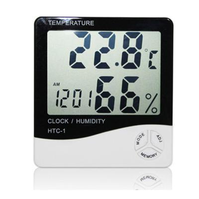 디지털 알람 시계 온습도계