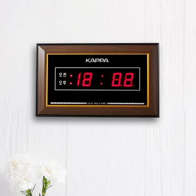 카파 D2100 소형 액자형 벽탁상겸용 디지털시계