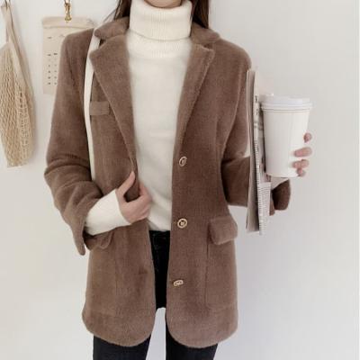여성 여자 가을 자켓 재킷 헤르츠 골드버튼 소프트