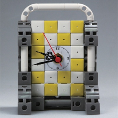 벽걸이시계11 블럭시계 (170123) 블럭레고형시계