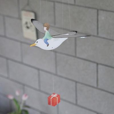 [버드힐링모빌 시즌2] 날갯짓하는 새모빌 아이와 새