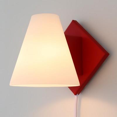 [바이빔] 모리 벽걸이 스탠드[LED]-레드
