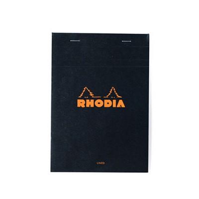 로디아 블랙 메모패드 줄지 NO.16