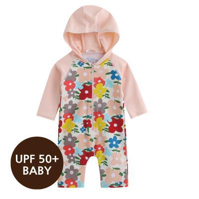 [베이비수영복] 로에나플라워수영복 영유아수영복 수트수영복