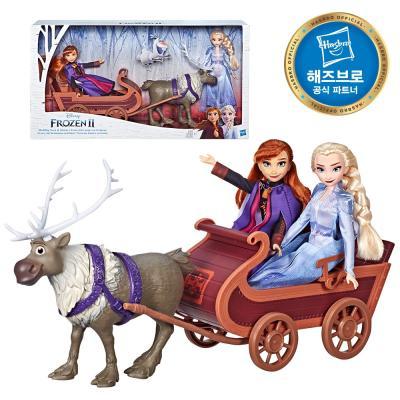 겨울왕국2 엘사와 안나의 스벤 컬렉션세트 디즈니공주