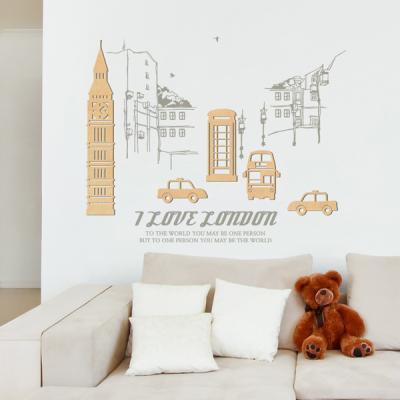 [우드스티커] 런던여행 (반제품)