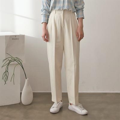 Cotton Baggy Crop Pants