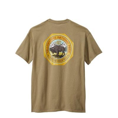 [펜들턴] 옐로우스톤 내셔널 파크 로고 반팔 티셔츠