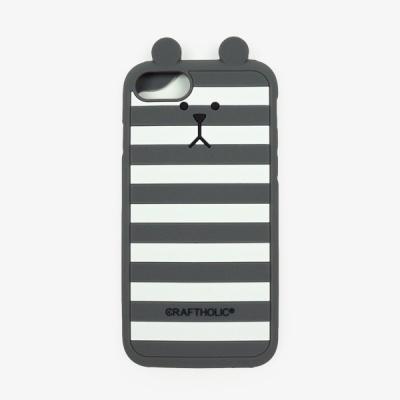 크래프트홀릭 Shell Cover for iPhone7 (GRAY BORDER)